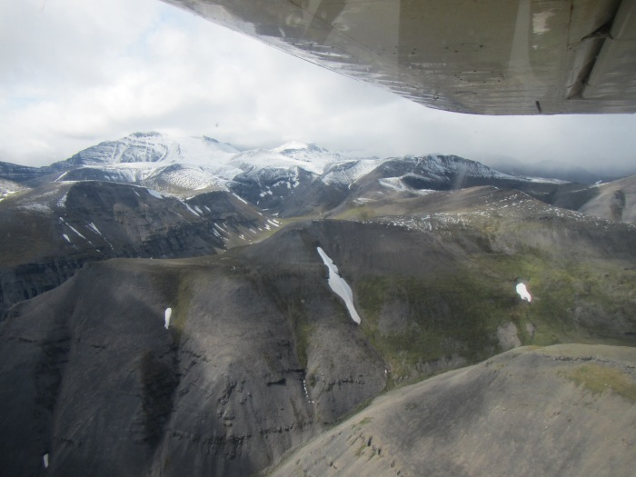 Returning over the Brooks Range